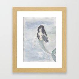 Mermaid Sister Framed Art Print
