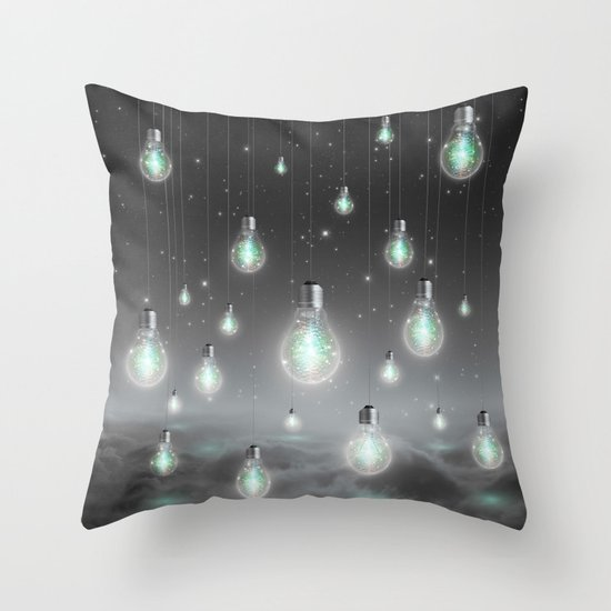 Shine From Within (Shine Bright Series) Throw Pillow