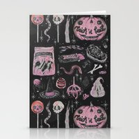 loll3 Stationery Cards featuring Trick 'r Treat by lOll3