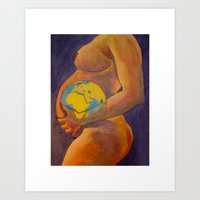 Creation - Terra Art Print