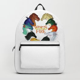 Love Wings of Fire Backpack