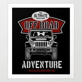 the ultimate off road Art Print