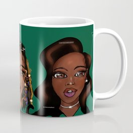 Melanin Beauty Series - Camo Green Coffee Mug