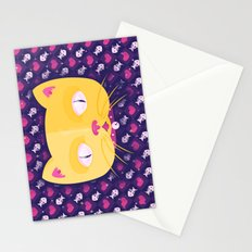 Silly Kitty Stationery Cards