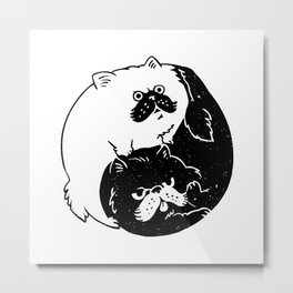 The Tao of Cats Metal Print