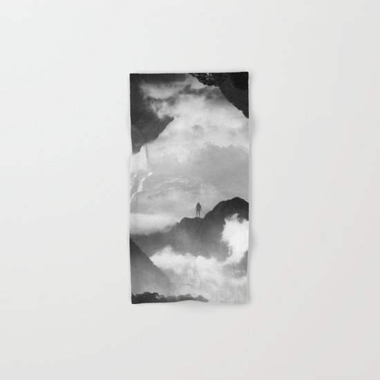 These mountains are mine of clouds Hand & Bath Towel