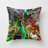 fairy tale Throw Pillows featuring Fairy Tale by Marketing Ideas 1001