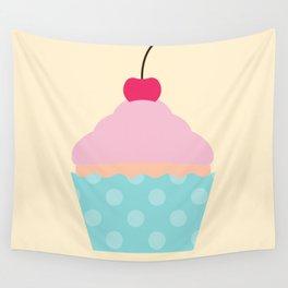 #95 Cupcake Wall Tapestry