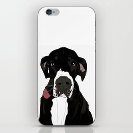 Great Dane Cutie iPhone Skin