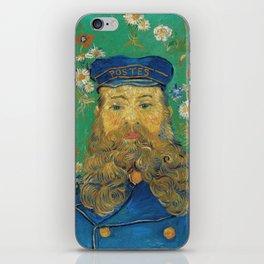 Vincent Van Gogh - Portrait of the Postman Joseph Roulin iPhone Skin