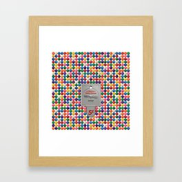 La Machine à Gomme Balloune Framed Art Print