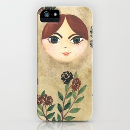 Matryoshka Doll #2 iPhone Case
