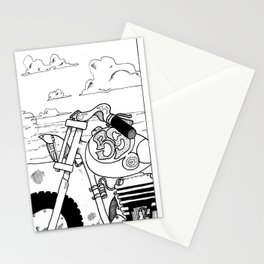 Once Upon a Time a Sunset  Stationery Cards