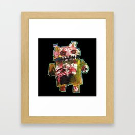 Android Zombie Art by Jack Larson Framed Art Print