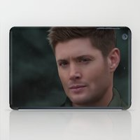 winchester iPad Cases featuring Dean Winchester by Rousetta