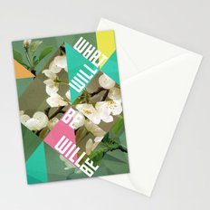 What Will Be Will Be Stationery Cards