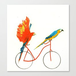 Reason SEVEN for using bike: Canvas Print