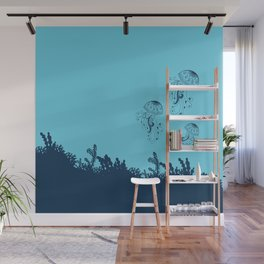Jellyfishes Wall Mural