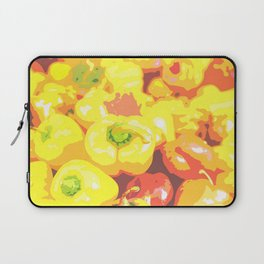 Lots of orange and red bell pepper Laptop Sleeve