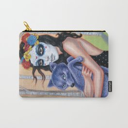 Coyote Spirit Carry-All Pouch