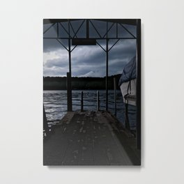 Dockside on Lake of the Ozarks Metal Print