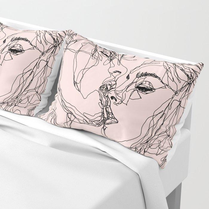 kiss more often Pillow Sham