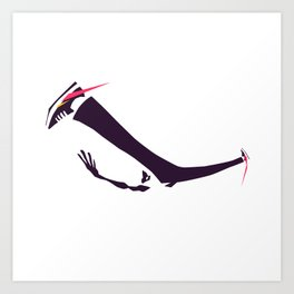 The Windmill - Bboy Power Move Collection Art Print