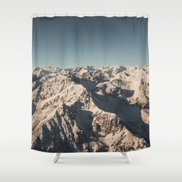 Lord Snow - Landscape Photography Shower Curtain