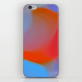 Diffuse colour iPhone Skin