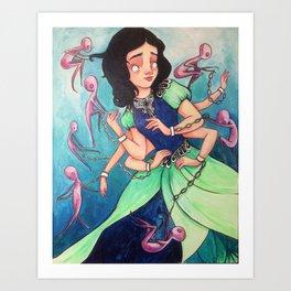 Anti Princess Duex Art Print