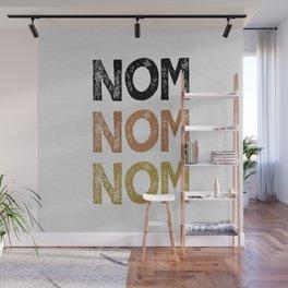 Nom Nom Nom Wall Mural