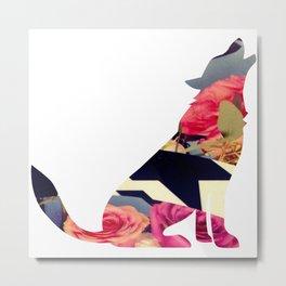 Loup du printemps-  Spring wolf Metal Print