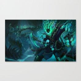 Classic Thresh League Of Legends Canvas Print