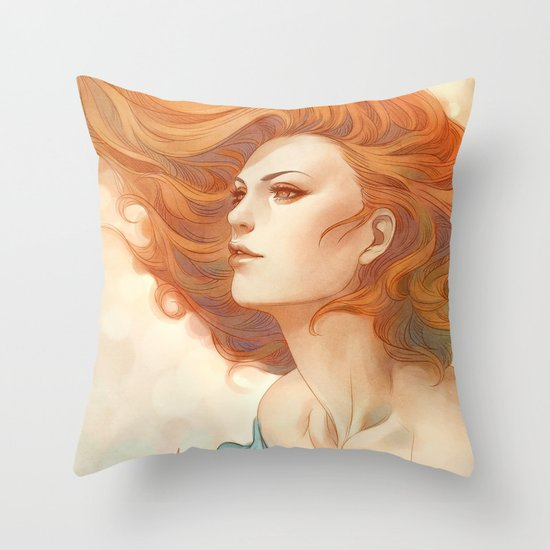 Pepper Breeze New Throw Pillow