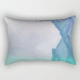 Curses: Blue Lagoon Rectangular Pillow