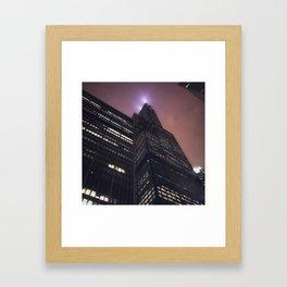 Chicago Beacon Framed Art Print