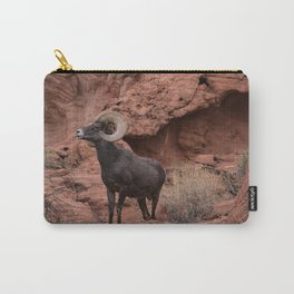 Desert Bighorn, Valley of Fire - III Carry-All Pouch