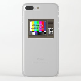 Videodrome Clear iPhone Case
