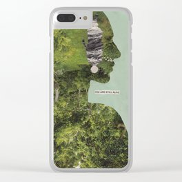 How do I help a friend who seems to be suicidal? Clear iPhone Case