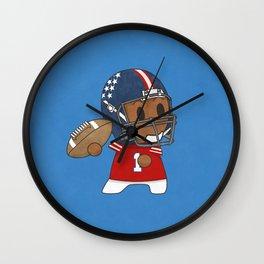 American Football II Wall Clock