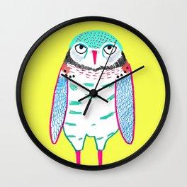 Owl Cute. Wall Clock