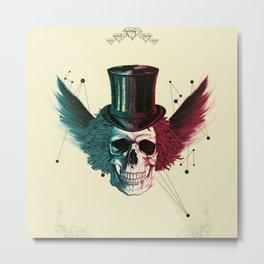 Mr. Skull Metal Print