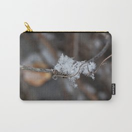 Delicate Snowflake Carry-All Pouch