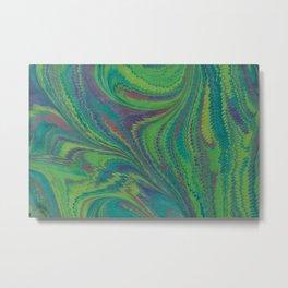 Marbled Sea Metal Print