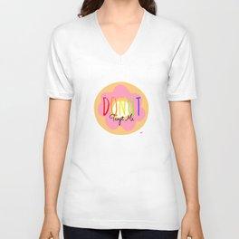 Donut Tempt Me Unisex V-Neck