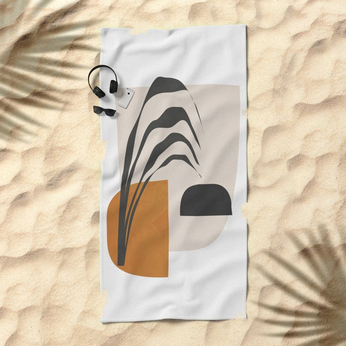 Abstract Shapes 3 Beach Towel