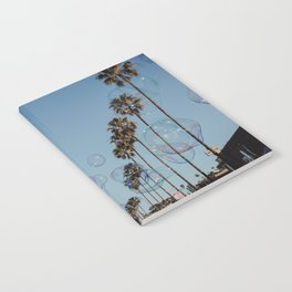 Bubbles & Palm Trees Notebook