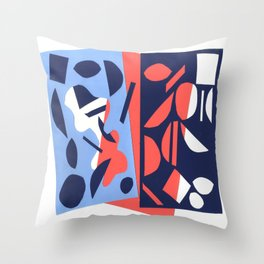 Cut out Throw Pillow