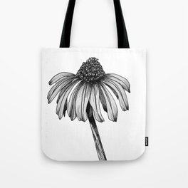 Stand Alone Coneflower Tote Bag