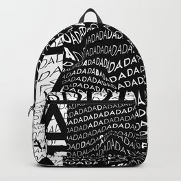 History of Art in Black and White. DADA Backpack